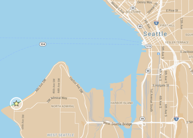 alki art fair map
